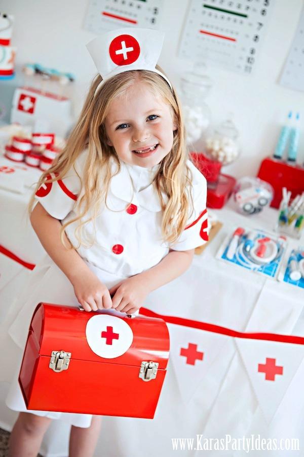 Inspiración: Fiesta de médicos y enfermeras | Niceparty