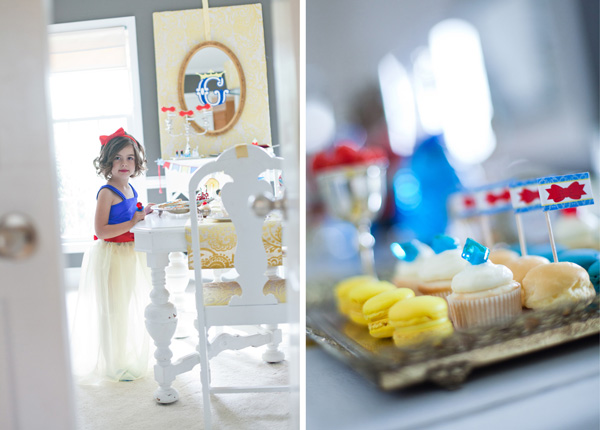 Fiestas infantiles: Cumpleaños inspirado en Blanca Nieves | Niceparty